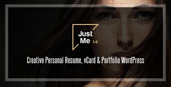 Just Me | Creative Portfolio WordPress Theme
