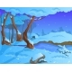 Cartoon Winter Background for a Game Art - GraphicRiver Item for Sale