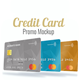 Credit Card Promo Mock-up - VideoHive Item for Sale