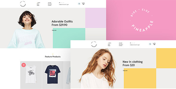 Pineapple - Fashion WooCommerce WordPress Theme