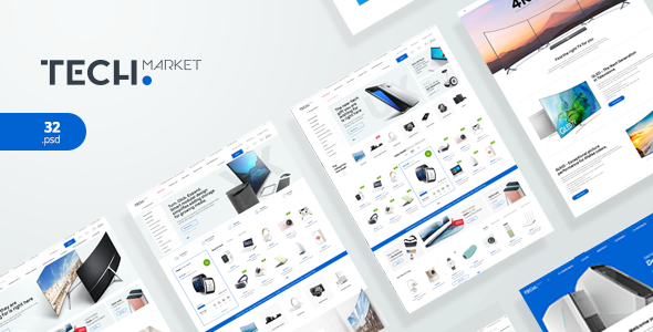 TechMarket - Ultimate Shopify Template