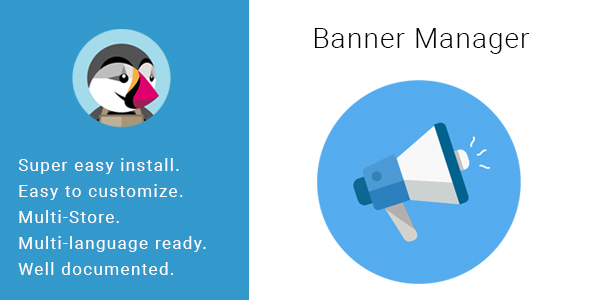 Banner Manager HTML Content Blocks & Slider