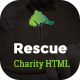 Rescue - Charity, Nonprofit, NGO & Fundraising Multipurpose HTML5 Template - ThemeForest Item for Sale