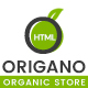 Origano - Organic Store HTML Template - ThemeForest Item for Sale