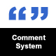 Comment System - CodeCanyon Item for Sale