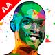 Geometric Art Photoshop Action - GraphicRiver Item for Sale