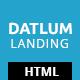 Datlum - Multipurpose Landing Page - ThemeForest Item for Sale