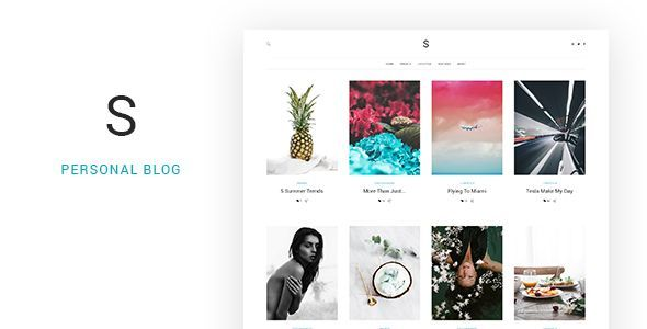Soul - Minimalist Responsive Blogging HTML5 Template