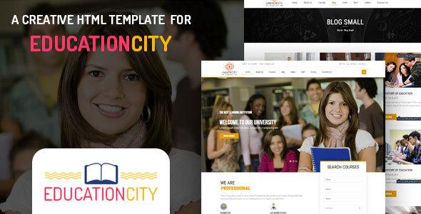 Education City – Education HTML Template