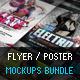 Flyer Poster Mockups Bundle - GraphicRiver Item for Sale
