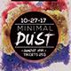 Minimal Dust Flyer - GraphicRiver Item for Sale