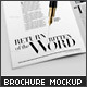Brochure / Catalog Closeup Edition Mockup - GraphicRiver Item for Sale