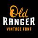 Old Ranger Font - GraphicRiver Item for Sale