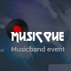 Musicque - Music Band Event PSD Template - ThemeForest Item for Sale