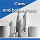 Cans and bottles Pack - 3DOcean Item for Sale