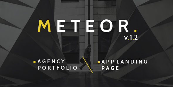 Meteor Creative 2in1 HTML Template