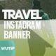 10 Instagram Post Banner-Travel 01 - GraphicRiver Item for Sale