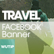 20 Facebook Post Banner - Travel01 - GraphicRiver Item for Sale