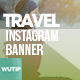 10 Instagram Post Banner-Travel 02 - GraphicRiver Item for Sale