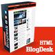 BlogDesk Business Responsive Magazine Template - ThemeForest Item for Sale
