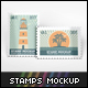 Stamps Mockup - GraphicRiver Item for Sale