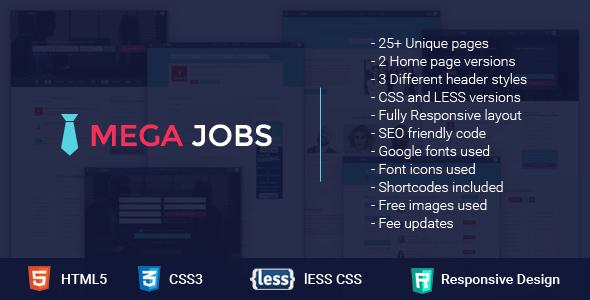 Mega Jobs - All in One Job Portal