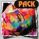 Folk Happy Background Pack