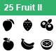 Fruit II Vector Icons - GraphicRiver Item for Sale