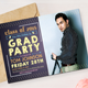 Graduation Party Invitation Pack - GraphicRiver Item for Sale