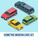 Isometric Cars Collection - GraphicRiver Item for Sale