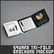 Square Tri-Fold Brochure Mock-Up - GraphicRiver Item for Sale