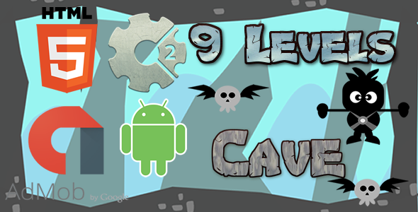 Cave - HTML5 Game (CAPX)