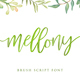 Mellony brush script font - GraphicRiver Item for Sale