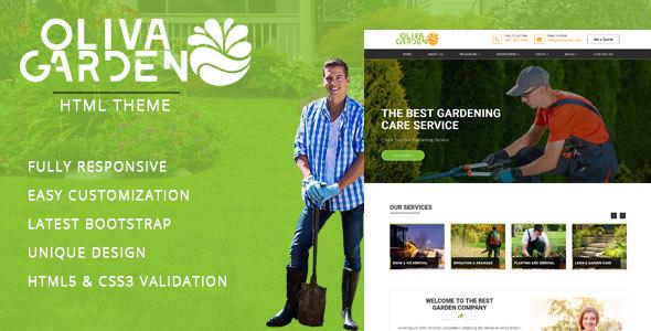 Garden - Company HTML Template