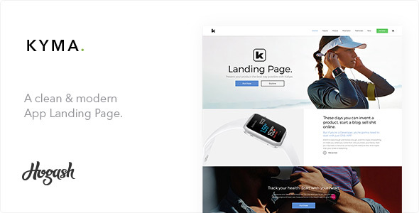 Kyma One Page | One Page parallax