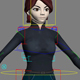 3d Character Female - 3DOcean Item for Sale