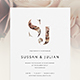 Wedding Invitation Suite - Floral Feelings - GraphicRiver Item for Sale