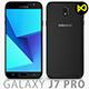 Samsung Galaxy J7 Pro 2017 Black - 3DOcean Item for Sale