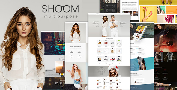 Shoom - Multipurpose Creative WordPress