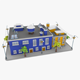 Lowpoly City Block02 - 3DOcean Item for Sale