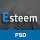 Esteem - Email PSD Template - GraphicRiver Item for Sale