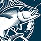 Vintage Tuna Symbols - GraphicRiver Item for Sale