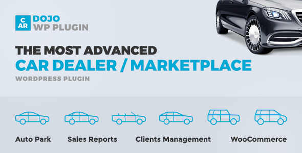 CarDojo - The Most Advanced CarDealer / Marketplace WordPress Plugin