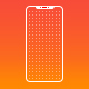 Printable Dotted A4 Paper with Bezel Less Smartphone - GraphicRiver Item for Sale