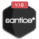 Santice Mail- Responsive E-mail Template + Online Access - ThemeForest Item for Sale