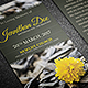 Funeral Prayer Card Template 8 - GraphicRiver Item for Sale