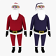 LowPoly Santa Claus 3D model - 3DOcean Item for Sale