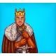 Man in Costume of King of the North Pop Art Vector - GraphicRiver Item for Sale