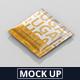 Salt / Sugar Bag Mockup - Square - GraphicRiver Item for Sale