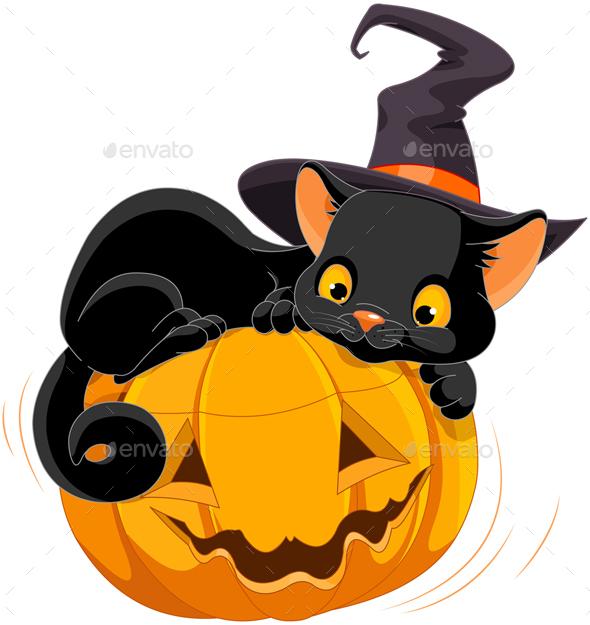 Halloween Kitten